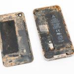 Если сразу не отнести айфон в ремонт после воды